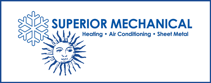Superior Mechanical Heating Air Conditioning Sheet Metal Logo